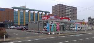 ベンリー新潟東区役所前店の店舗外観写真